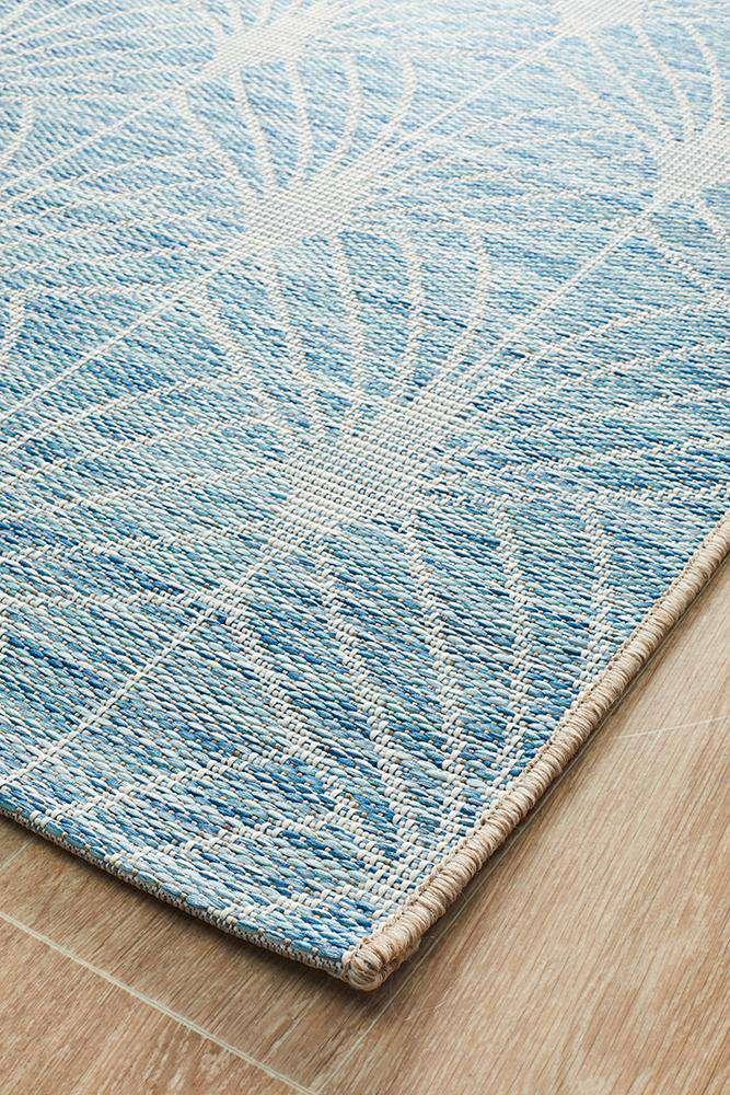 Rethymno Outdoor Rug - Blue - Simple Style Co