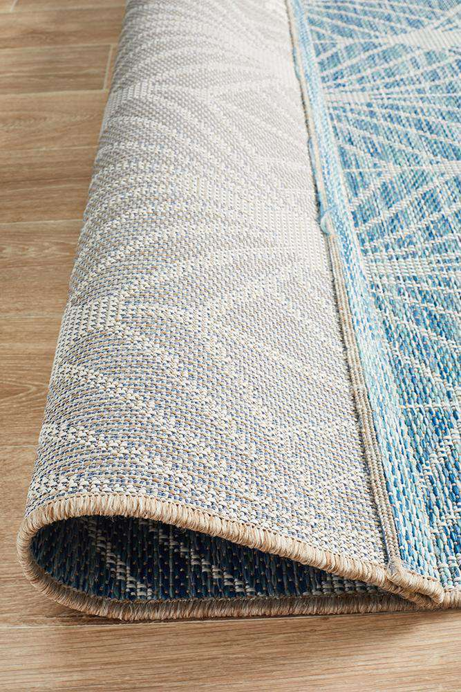 Rethymno Outdoor Rug - Blue
