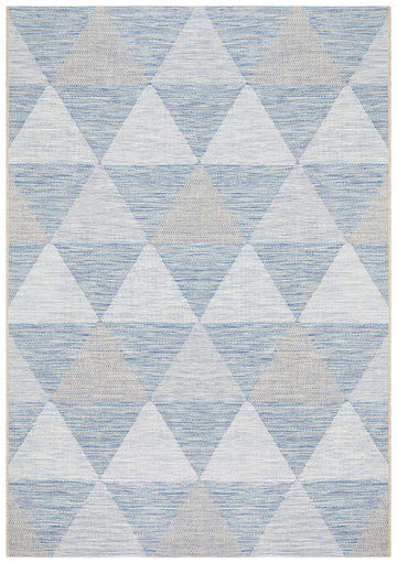 Otranto Outdoor Rug Blue | Outdoor Rugs | AfterPay Rugs | Free Delivery