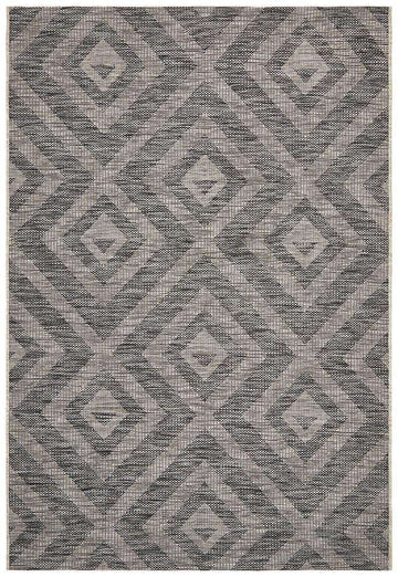 Piraeus Outdoor Rug Black | Outdoor Rugs | AfterPay Rugs | Free Delivery Rugs