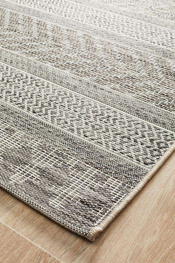Pylos Outdoor Rug - Grey