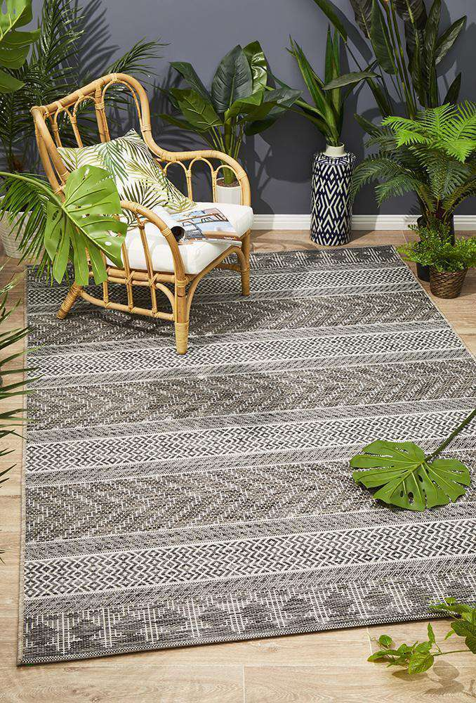 Pylos Outdoor Rug Grey | Outdoor Rugs | AfterPay Rugs | Free Delivery