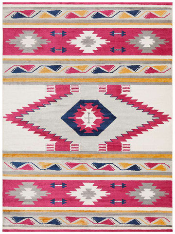 Tulum Oriental Rug - Pink - Simple Style Co