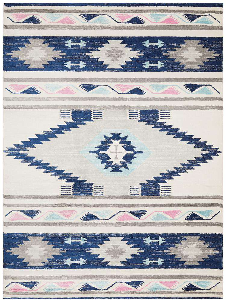 Simple Style Co: Tulum Oriental Rug Navy | Buy Rugs Online Australia