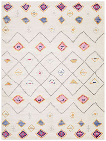 Simple Style Co: Kiraly Oriental White Rug | Buy Rugs Online Australia