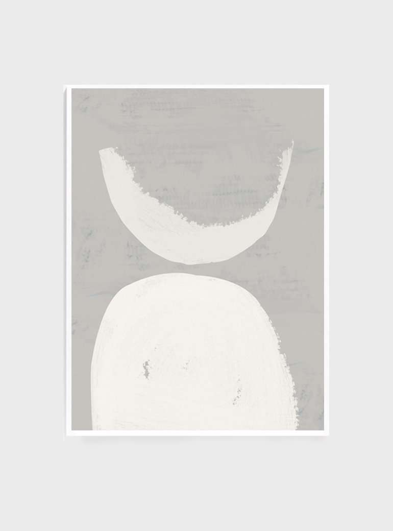 The Print Supply: Crescent Moon Art Print | Simple Style Co