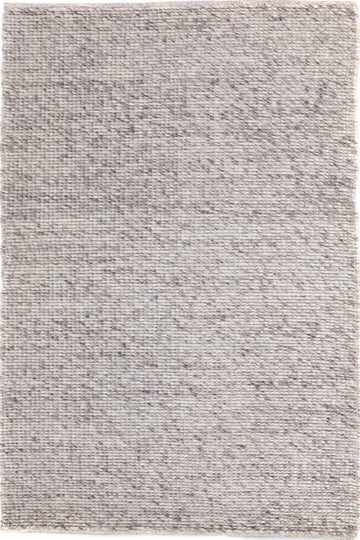 Farrah Light Grey Felted Wool Rug - Simple Style Co