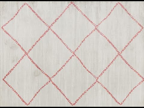Florentin Grey & Pink Diamond Rug