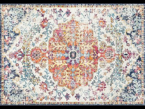 Marmaris Distressed Transitional Rug - Simple Style Co