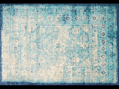 Anastasia 261 Blue Transitional Rug - Simple Style Co