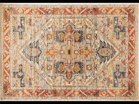 Alara Rust Transitional Rug