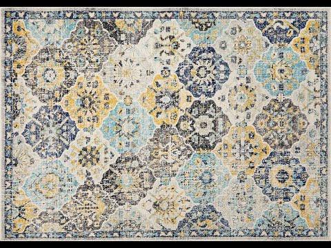 Poppy Multi Transitional Rug - Simple Style Co