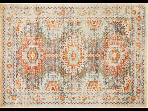 Faris Blue Tribal Rug