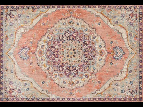 Edrica Terracotta Traditional Runner Rug