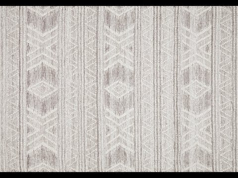 Arya Natural Stitch Woven Wool Rug