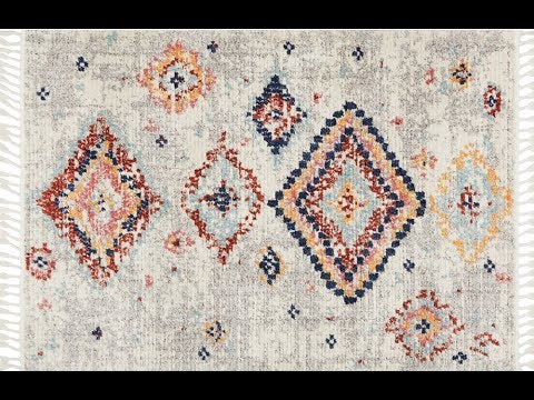 Azrou Tribal Diamond Rug