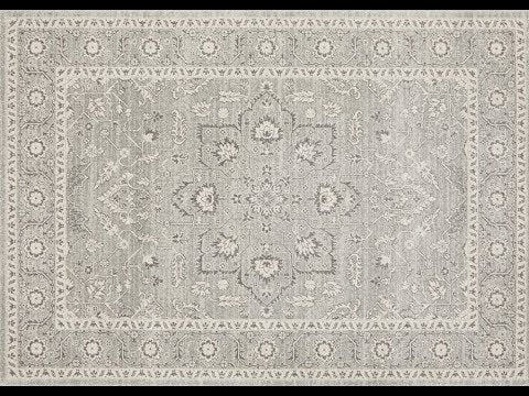 Verda Transitional Rug Silver - Simple Style Co