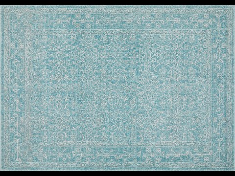 Florencia Blue Transitional Rug