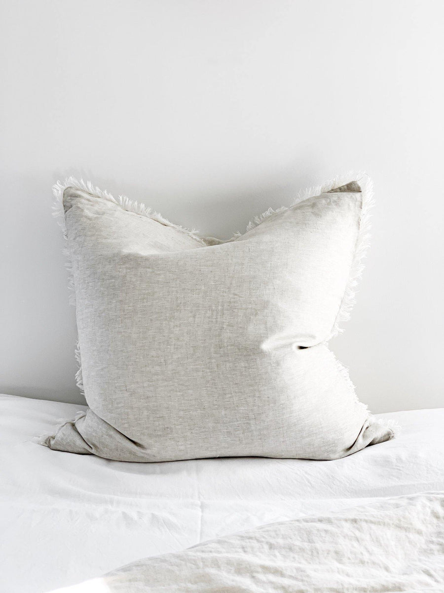 Feather & Oak Flax Linen Euro Cushion - Simple Style Co
