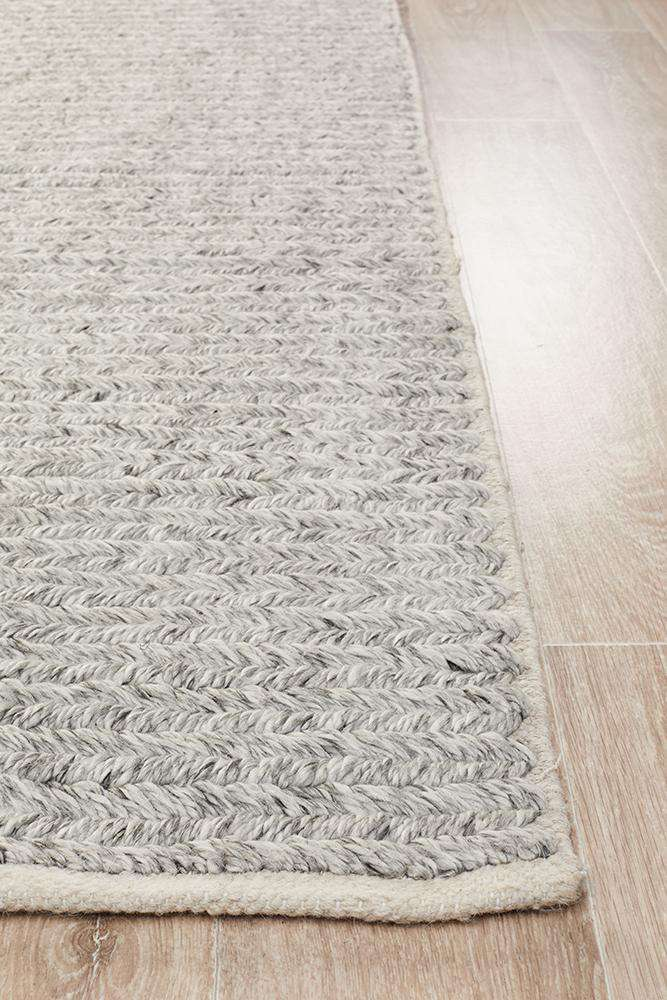 Harleem Silver Grey Rug - Simple Style Co
