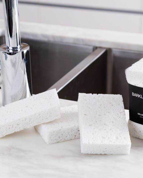 Barkly Basics All White Cellulose Sponge | Simple Style Co