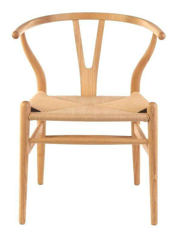 Wishbone Dining Chair Natural | Simple Style Co