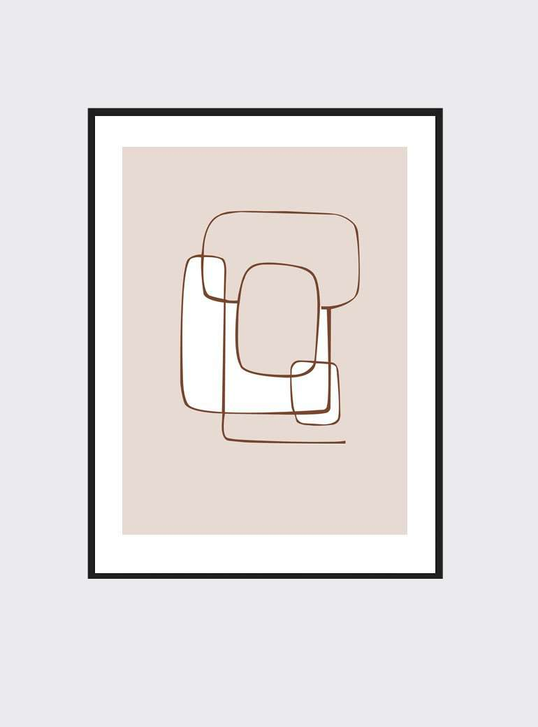 The Print Supply: In The Loop Art Print | Simple Style Co