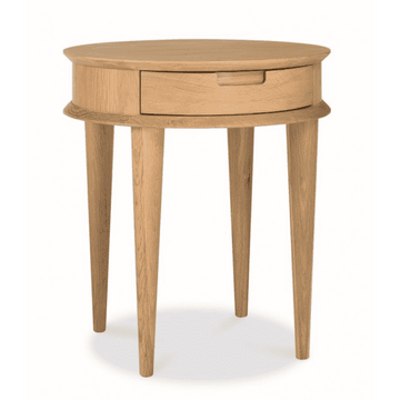 Oliver Lamp Side Table - Natural - Simple Style Co