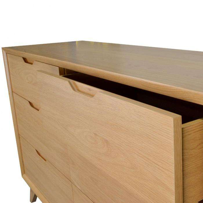Simple Style Co: Nora 6 Drawer Dresser | Buy Bedroom Furniture Australia