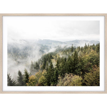 Misty Forest Print by Love Your Space | Simple Style Co