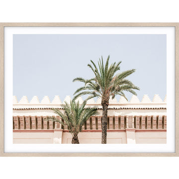 Moroccan Palms I Print - Simple Style Co