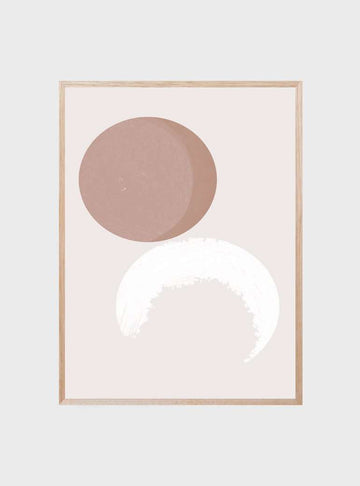The Print Supply: Pink Moon Art Print | Simple Style Co