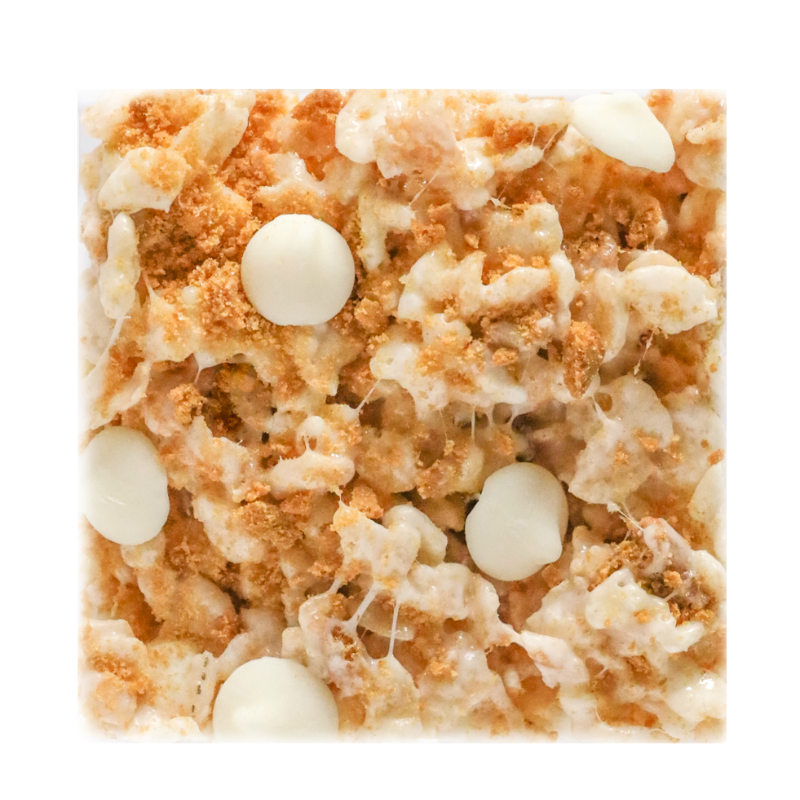 Gingersnap White Chocolate Crispies (Flavor of the Month)