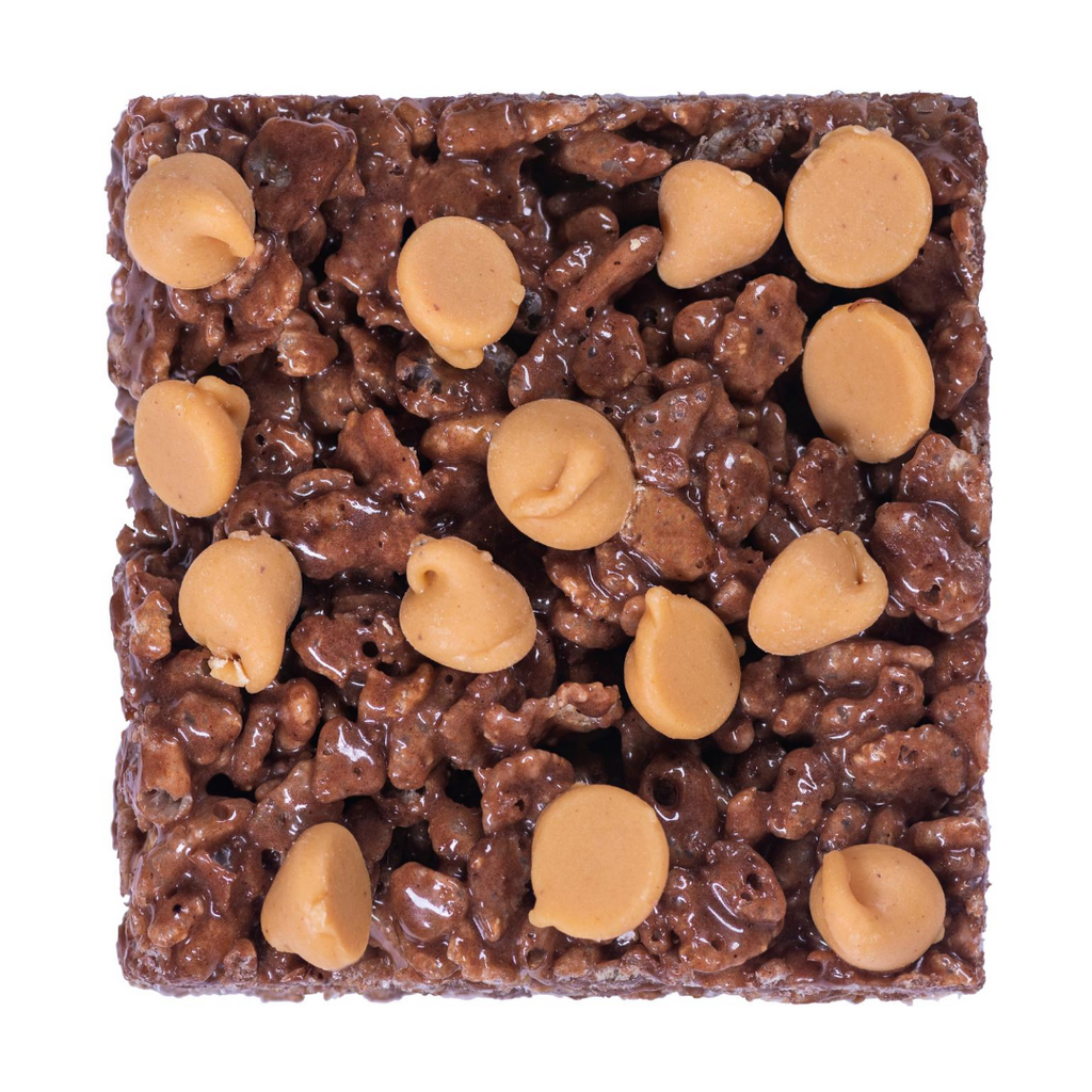 Chocolate PB Chip Crispies (Flavor of the Month)