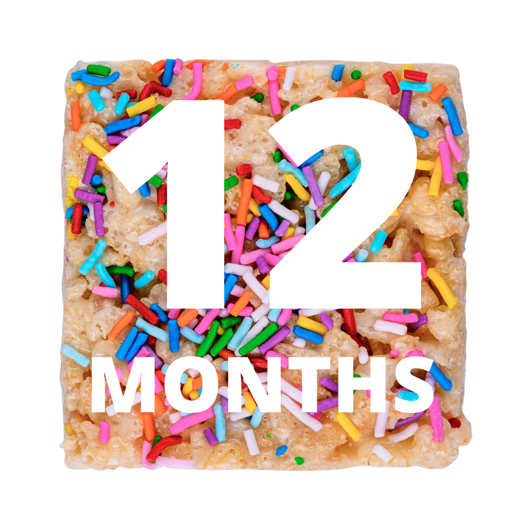 12-Month Crispie Club Subscription (Shipping Included!)