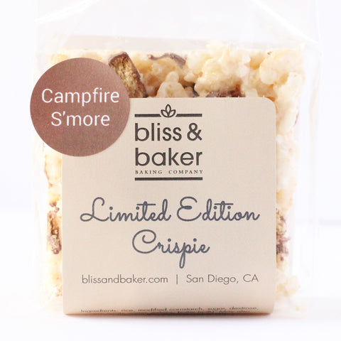 Campfire S'more Crispies
