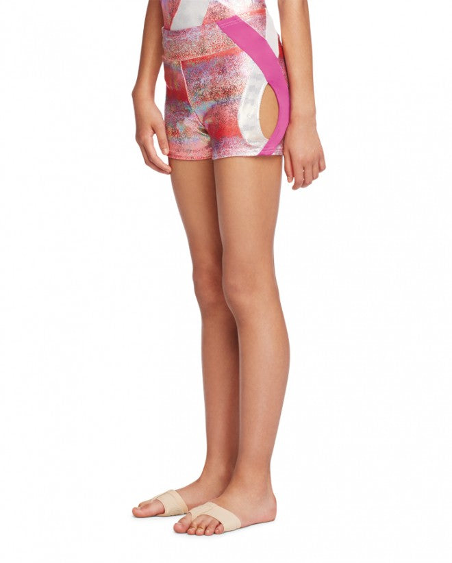 CAPEZIO DOUBLE LAYOUT SHORT