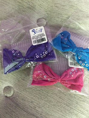 STUDIO 7 GLITTER BOW CHBOW03