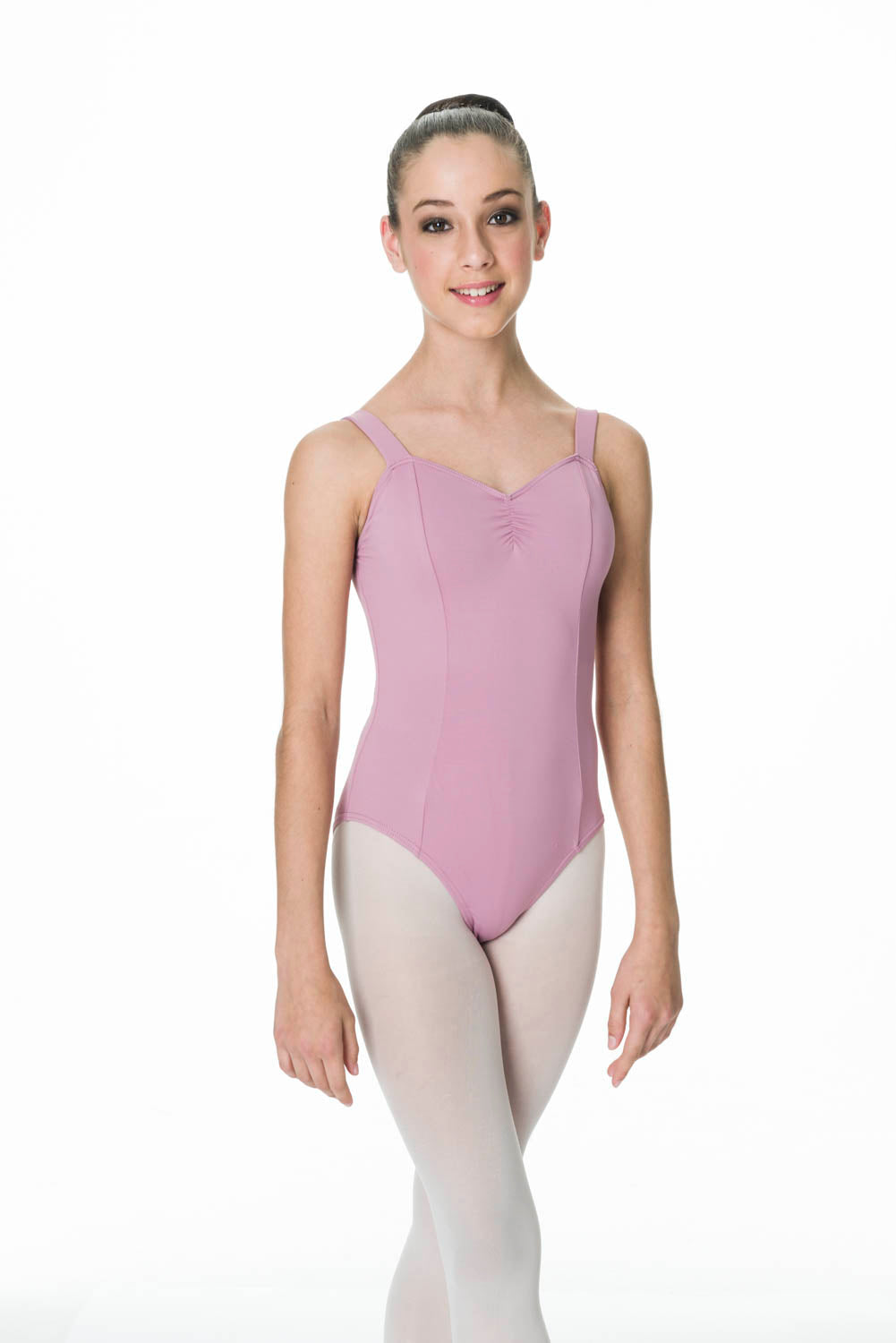 STUDIO 7 WIDE STRAP LEOTARD ADULT- TAL03