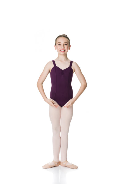 STUDIO 7  WIDE STRAP LEOTARD - GIRLS- TCL03