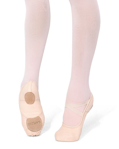 CAPEZIO HANAMI STRETCH CANVAS CHILD BALLET SHOE 2037C LIGHT PINK
