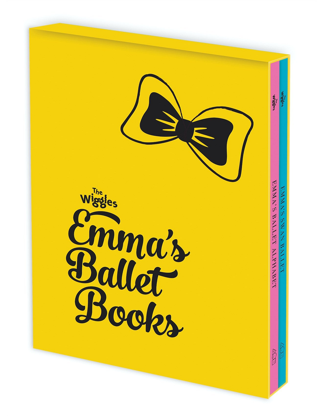 THE WIGGLES: EMMA'S ALPHABET BALLET AND EMMA'S SWAN BALLET 2 BOOK SLIPCASE