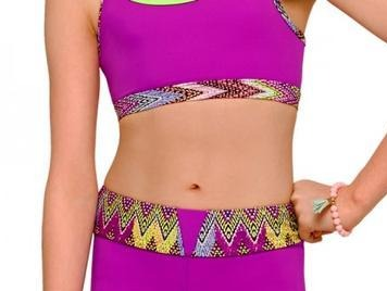 STRUT STUFF FIESTA CROP TOP TCR035
