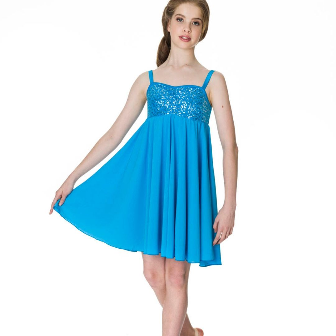 STUDIO 7 SEQUIN LYRICAL DRESS ADULT ADD05