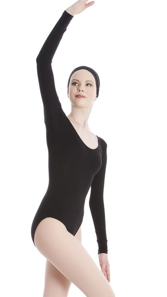 61439f129 ENERGETIKS LONG SLEEVE SCOOP LEOTARD ADULT S AL03 – DIVINE DANCE TWEED
