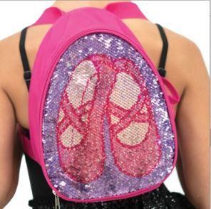 CAPEZIO REVERSIBLE GLITTER BACKPACK B222C