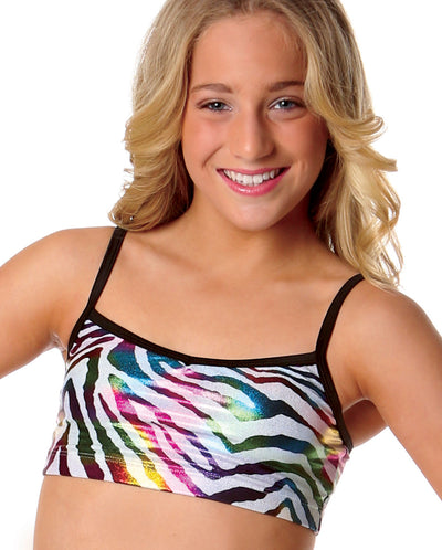 STUDIO 7 SAFARI CAMISOLE CROP TOP ADCT04