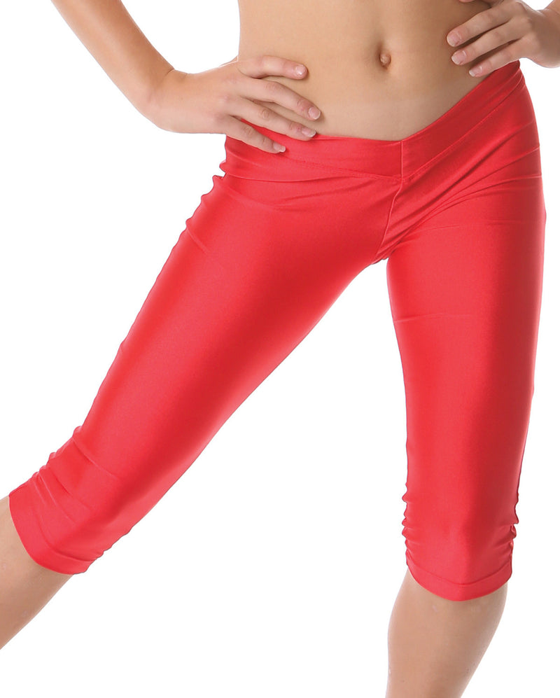 STUDIO7 DANCEWEAR NYLON LYCRA 3/4 LEGGINGS CHLG02
