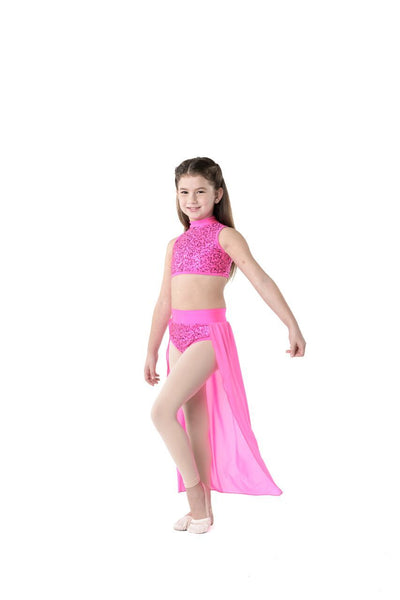 STUDIO 7 GIRLS SYNCHRONISED CONTEMPORARY SKIRT CHSK06