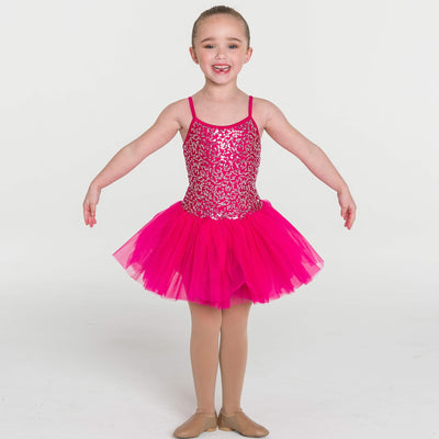 STUDIO 7 SEQUIN TUTU DRESS CHILD CHTU04